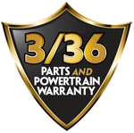3/36 Parts and Powertrain Warranty